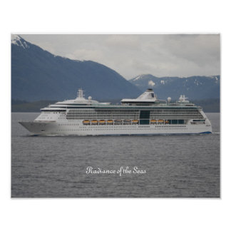 Radiance of the Seas Poster