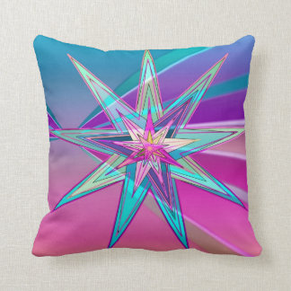 Radiant Acquiescence Throw Pillow