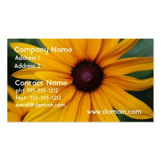 Radiant Black Eyed Susan Business Card Templates