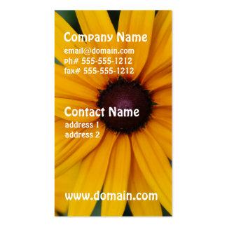 Radiant Black Eyed Susan Business Cards