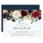 Radiant Bloom Bridal Shower Invitation