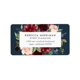 Radiant Bloom Business Return Address Label