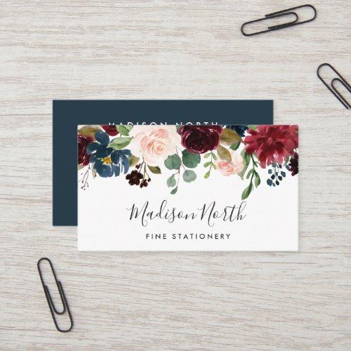 Radiant Bloom | Floral Business Card