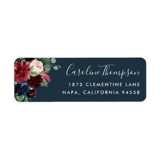 Radiant Bloom | Floral Return Address Label