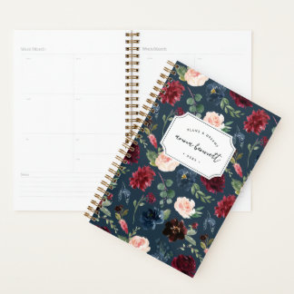 Radiant Bloom Personalized Planner