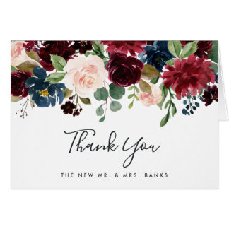 Radiant Bloom Thank You Card