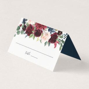 Radiant Bloom Wedding Place Card
