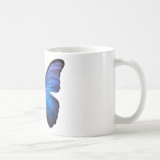 Radiant Blue Butterfly Coffee Mug