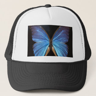 Radiant Blue Butterfly Trucker Hat