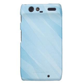 Radiant blue cover design droid RAZR cover
