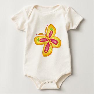 RADIANT BUTTERFLY BABY BODYSUIT