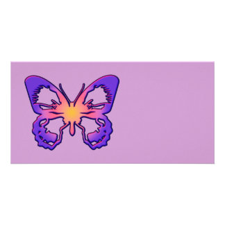 Radiant Butterfly Card