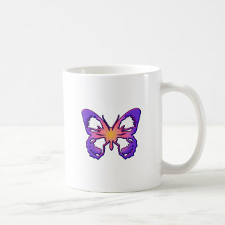 Radiant Butterfly Classic White Coffee Mug