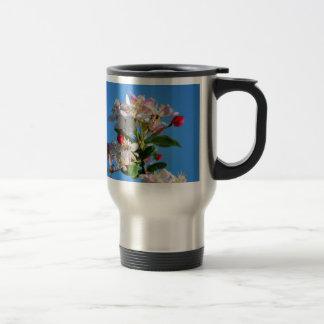Radiant cherry blossom travel mug