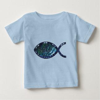 Radiant Christian Fish Symbol Baby T-Shirt