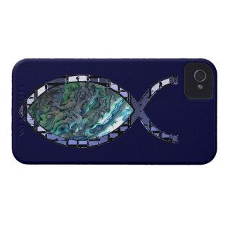 Radiant Christian Fish Symbol iPhone 4 Case-Mate Case