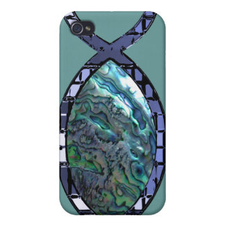Radiant Christian Fish Symbol iPhone 4/4S Cases