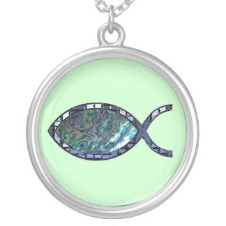 Christian fish symbol necklaces christian fish symbol for Christian fish necklace