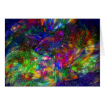 Radiant Crystals Greeting Card