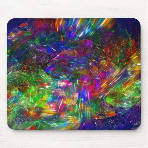 Radiant Ctystals Mouse Pad