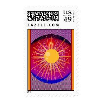 Radiant Energy Postage Stamp