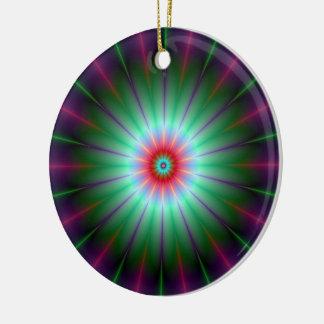 Radiant Flower Ornament