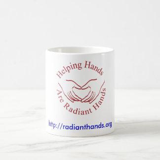 Radiant Hands Coffee Mug