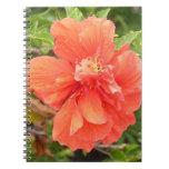 Radiant Hawaiian Hibiscus Spiral Notebook