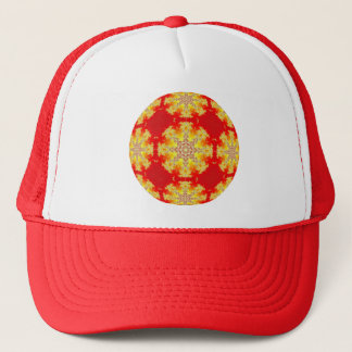 Radiant heart Kaleidoscope Mandala Trucker Hat