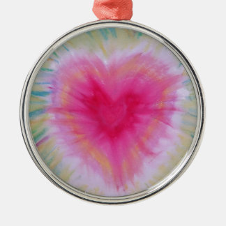 Radiant Heart products Metal Ornament