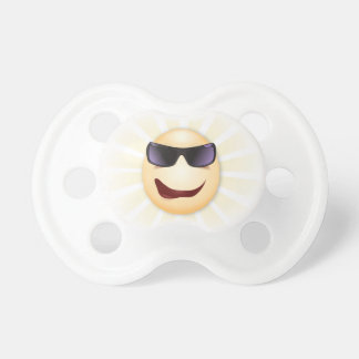Radiant Joe Cool Funny Face Pacifier