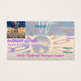 Radiant Living Business Card