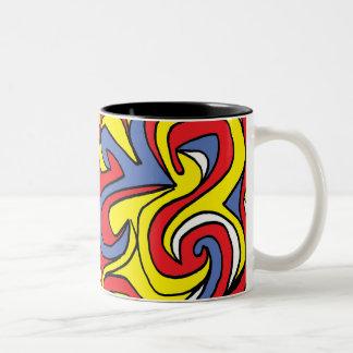 Radiant Majestic Animal Astonishing Two-Tone Coffee Mug