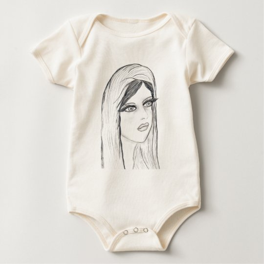 Radiant Mary Baby Bodysuit
