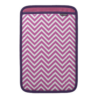 Radiant Orchid Chevron Pattern Purple White Modern Sleeve For MacBook Air