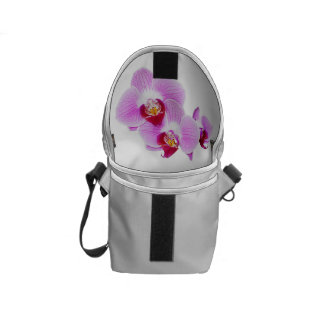 Radiant Orchid Closeup Photo - Isolated on Transpa Courier Bag