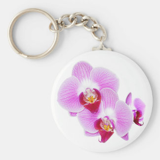 Radiant Orchid Closeup Photo - Isolated on Transpa Keychain