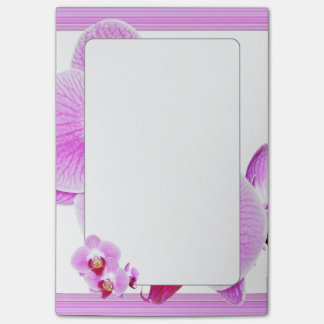 Radiant Orchid Closeup Photo with Square Frame Post-it Notes