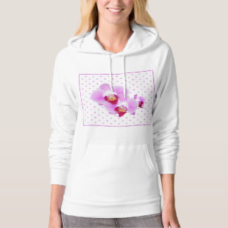 Radiant Orchid Closeup Photograph Hoodie