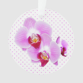 Radiant Orchid Closeup Photograph Ornament