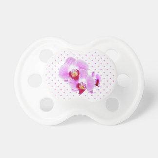 Radiant Orchid Closeup Photograph Pacifier