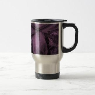 """Radiant Orchid"" Colored Siberian Iris Travel Mug"