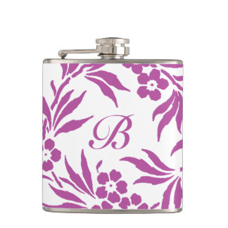 Radiant Orchid Floral Flask