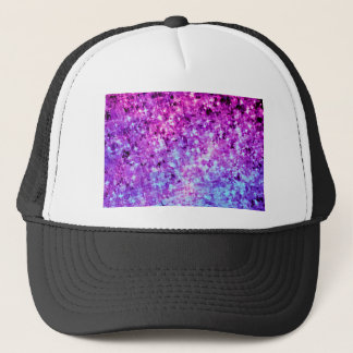 RADIANT ORCHID GALAXY Stars Ombre Cosmic Art Trucker Hat