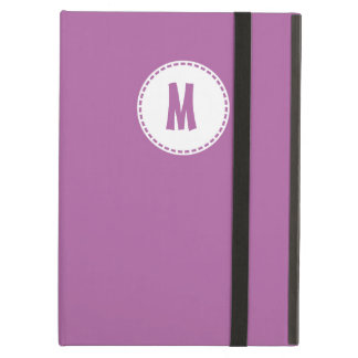 Radiant Orchid Monogrammed iCase iPad Air Case
