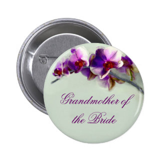 Radiant Orchid Painting Pinback Button
