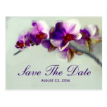 Radiant Orchid Painting Save The Date Wedding Card Postcard