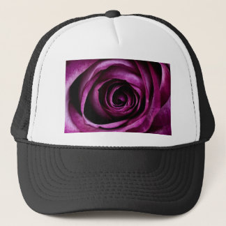 Radiant Orchid Rose Trucker Hat