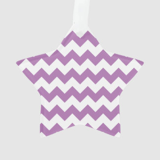 Radiant Orchid White Chevron Pattern