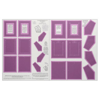 Radiant Orchid Zazzle Fabric photo frame crafts